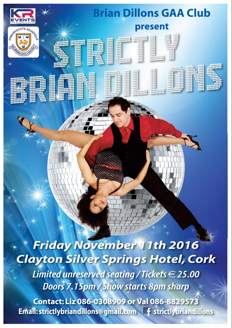 Strictly Brian Dillons - Friday November 11th